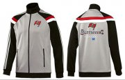 Wholesale Cheap NFL Tampa Bay Buccaneers Victory Jacket Grey