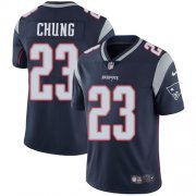 Wholesale Cheap Nike Patriots #23 Patrick Chung Navy Blue Team Color Youth Stitched NFL Vapor Untouchable Limited Jersey