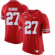 Wholesale Cheap Ohio State Buckeyes 27 Eddie George Red College Football Jersey