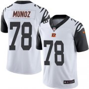 Wholesale Cheap Nike Bengals #78 Anthony Munoz White Men's Stitched NFL Limited Rush Jersey