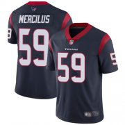 Wholesale Cheap Nike Texans #59 Whitney Mercilus Navy Blue Team Color Men's Stitched NFL Vapor Untouchable Limited Jersey