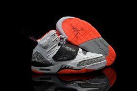 Wholesale Cheap Air Jordan Son of Mars Yeezy White/wolf gray-red-black