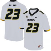 Wholesale Cheap Missouri Tigers 23 Johnny Roland White Nike College Football Jersey