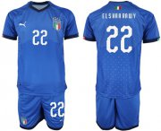 Wholesale Cheap Italy #22 El Shaarawy Home Soccer Country Jersey