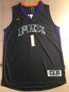 Wholesale Cheap Men's Phoenix Suns Booker adidas Black Swingman Alternate Jersey