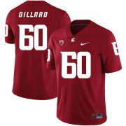 Wholesale Cheap Washington State Cougars 60 Andre Dillard Red College Football Jersey