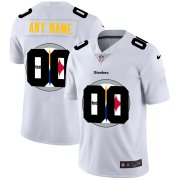 Wholesale Cheap Nike Pittsburgh Steelers Customized White Team Big Logo Vapor Untouchable Limited Jersey