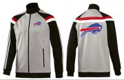 Wholesale Cheap NFL Buffalo Bills Team Logo Jacket Grey