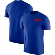 Wholesale Cheap Buffalo Bills Nike On-Field Coaches UV Performance T-Shirt Royal