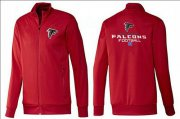 Wholesale Cheap NFL Atlanta Falcons Victory Jacket Red