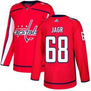 Wholesale Cheap Adidas Capitals #68 Jaromir Jagr Red Home Authentic Stitched NHL Jersey