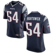 Wholesale Cheap Nike Patriots #54 Dont'a Hightower Navy Blue Team Color Youth Stitched NFL New Elite Jersey