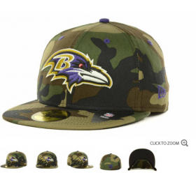 Wholesale Cheap Baltimore Ravens fitted hats 11