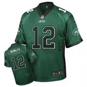 Wholesale Cheap Nike Jets #12 Joe Namath Green Team Color Men's Stitched NFL Elite Drift Fashion Jersey