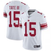Wholesale Cheap Nike Giants #15 Golden Tate White Men's Stitched NFL Vapor Untouchable Limited Jersey
