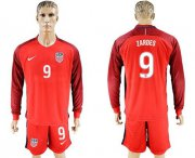 Wholesale Cheap USA #9 Zardes Away Long Sleeves Soccer Country Jersey
