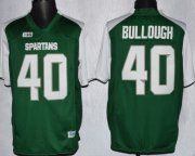 Wholesale Cheap Michigan State Spartans #40 Max Bullough 2013 Green With White Jersey