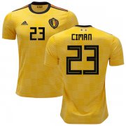 Wholesale Cheap Belgium #23 Ciman Away Kid Soccer Country Jersey