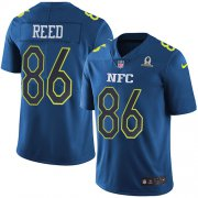 Wholesale Cheap Nike Redskins #86 Jordan Reed Navy Youth Stitched NFL Limited NFC 2017 Pro Bowl Jersey
