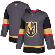 Wholesale Cheap Adidas Golden Knights Blank Grey Home Authentic Stitched Youth NHL Jersey