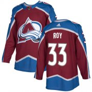Wholesale Cheap Adidas Avalanche #33 Patrick Roy Burgundy Home Authentic Stitched Youth NHL Jersey