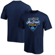 Wholesale Cheap Youth 2020 NHL All-Star Game T-Shirt Navy