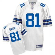 Wholesale Cheap Cowboys #81 Terrel Owens White Stitched NFL Jersey