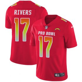 Wholesale Cheap Nike Chargers #17 Philip Rivers Red Youth Stitched NFL Limited AFC 2019 Pro Bowl Jersey