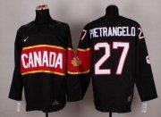 Wholesale Cheap Olympic 2014 CA. #27 Alex Pietrangelo Black Stitched NHL Jersey