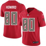 Wholesale Cheap Nike Buccaneers #80 O. J. Howard Red Men's Stitched NFL Limited Rush Jersey