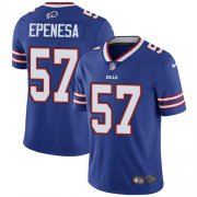 Wholesale Cheap Nike Bills #57 A.J. Epenesas Royal Blue Team Color Men's Stitched NFL Vapor Untouchable Limited Jersey