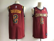 Wholesale Cheap Men's Cleveland Cavaliers 2 Collin Sexton Swingman Icon Edition Jersey