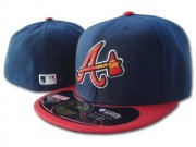 Wholesale Cheap Atlanta Braves fitted hats 01