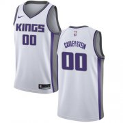 Wholesale Cheap Women's Sacramento Kings #00 Willie Cauley-Stein White Basketball Swingman Association Edition Jersey