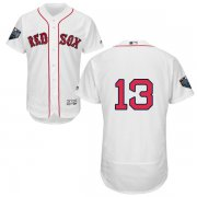 Wholesale Cheap Red Sox #13 Hanley Ramirez White Flexbase Authentic Collection 2018 World Series Stitched MLB Jersey