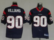 Wholesale Cheap Texans Mario Williams #90 Blue Stitched NFL Jersey