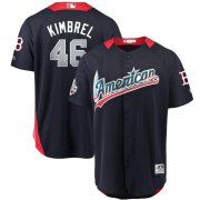 Wholesale Cheap Red Sox #46 Craig Kimbrel Navy Blue 2018 All-Star American League Stitched MLB Jersey