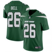 Wholesale Cheap Nike Jets #26 Le'Veon Bell Green Team Color Men's Stitched NFL Vapor Untouchable Limited Jersey