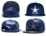 Wholesale Cheap NFL Dallas Cowboys Fresh Logo Blue Reflective Adjustable Hat