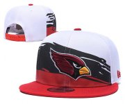 Wholesale Cheap Arizona Cardinals Team Logo Red White Adjustable Hat
