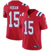 Wholesale Cheap Nike Patriots #15 Chris Hogan Red Alternate Men's Stitched NFL Vapor Untouchable Limited Jersey
