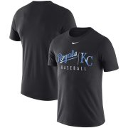 Wholesale Cheap Kansas City Royals Nike MLB Practice T-Shirt Anthracite