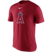 Wholesale Cheap Los Angeles Angels Nike Legend Batting Practice Primary Logo Performance T-Shirt Red
