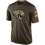 Wholesale Cheap Men's Jacksonville Jaguars Salute To Service Nike Dri-FIT T-Shirt