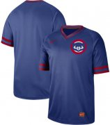 Wholesale Cheap Nike Cubs Blank Royal Authentic Cooperstown Collection Stitched MLB Jersey