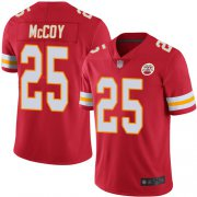 Wholesale Cheap Nike Chiefs #25 LeSean McCoy Red Team Color Men's Stitched NFL Vapor Untouchable Limited Jersey