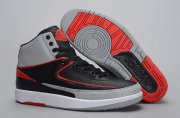 Wholesale Cheap Air Jordan 2 INFRARED 23 Shoes Black/Infrared 23-Pure Platinum-White