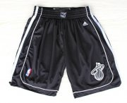 Wholesale Cheap Miami Heat All Black Short
