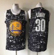 Wholesale Cheap Men's Golden State Warriors #30 Stephen Curry 2015 Urban Luminous Fashion Jersey