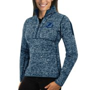 Wholesale Cheap Tampa Bay Lightning Antigua Women's Fortune 1/2-Zip Pullover Sweater Royal